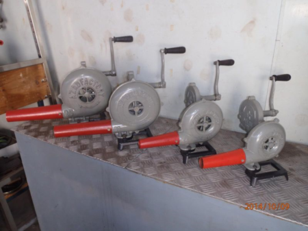 Blowers, Hand Cranked