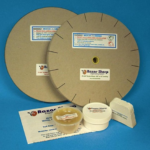 Gritted and Slotted paper wheels