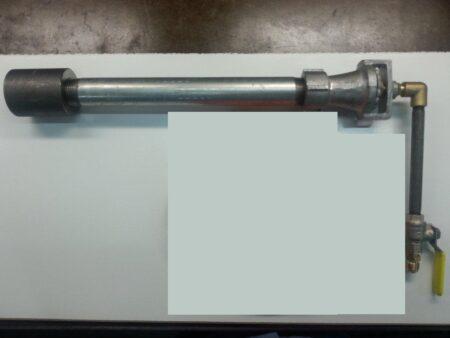 Gas Forge Burner BKIT 4 - Burner and Valve Assembly ONLY