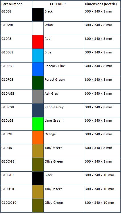 g10/fr4 liner material