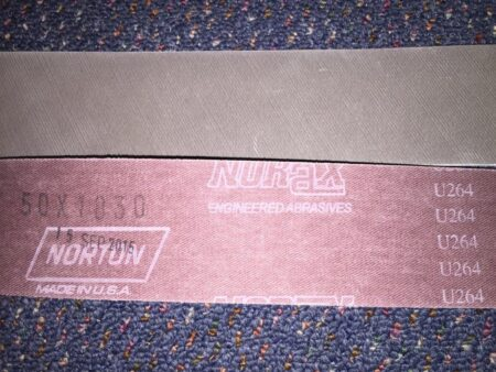 "72U264-100 (50 x 1830 mm) (2 x 72"") Norton Norax High Grade Finishing Abrasive Belts"