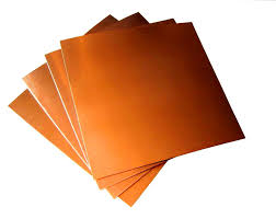 Copper Sheet 0.5mm x 300mm x 300mm