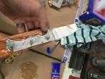 glue wood to steel