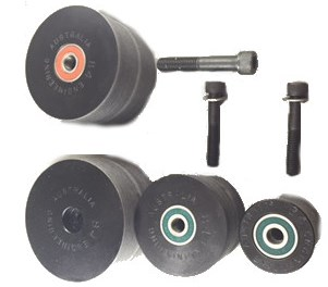 Noob Grinder Wheel kit with bearings ( Suits Shop Mate Grinder also)