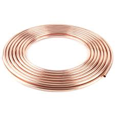 Copper Tube (annealed) 4.8mm x 1m