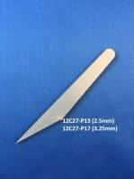 12C27 2.5 mm Micro Kiridashi Knife Blade Blank 12C27-P13