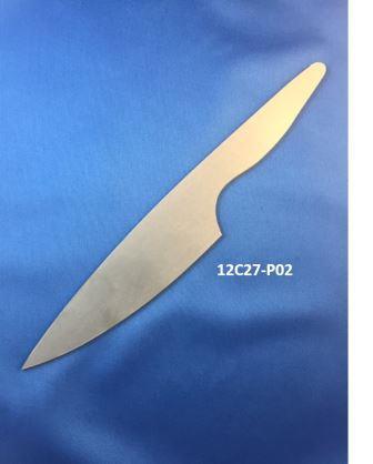 12C27 Kitchen Knife Blade Blank 12C27-P02