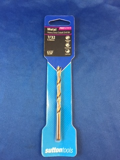 "Sutton Drill Bit - Heavy Duty Cobalt - 7/32"" - D1080556"