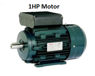 1hp  (0.75 kw) 240 volt fixed speed motor