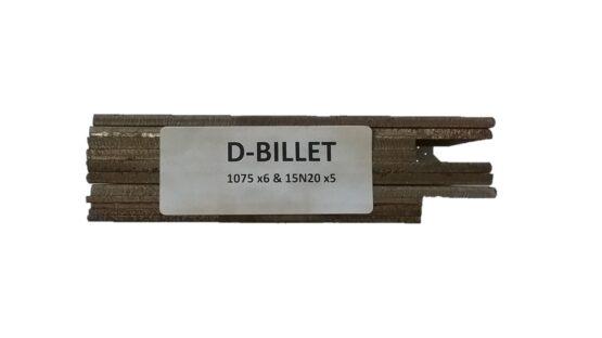 d-billet steel for damascus knife making