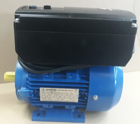 1.5 HP (1.1 kw) variable speed motor With Drive