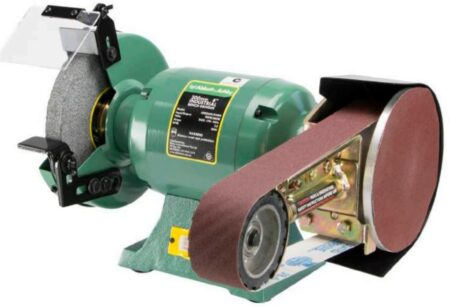"ABBOTT & ASHBY 8"" industrial grinder with Multitool attachment"