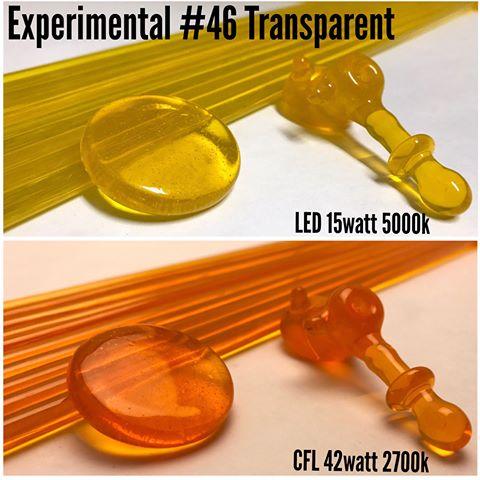 Glass Northstar Experimental #43 Halo - Orange UV