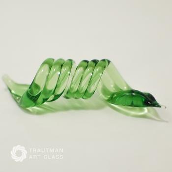 Glass Trautman Tropical Green