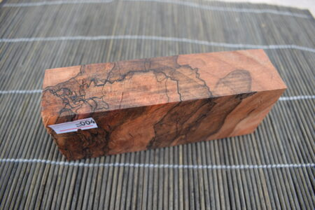 Stabilised Spalted Maple Amber