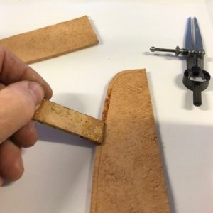 leatherwork 2 basic saddle stitches
