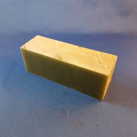 G10 Handle Block Natural Colour 40 x 45 x 125mm