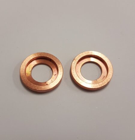 "Copper Pivot Screw Collar Set 1/2"" x 3/8"" x 3/16"""