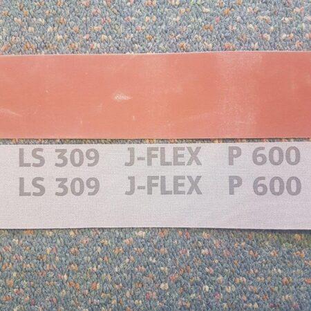 Klingspor 50 x 1830 mm (2 x 72″) 600 grit Aluminium Oxide J-Flex