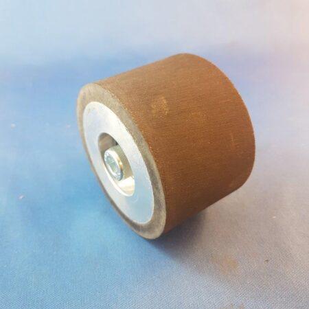 """Nitrile Rubber Idler Wheel 2"""" wide x 3"""" Diameter"""
