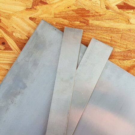 2x bars and 1x sheet of Sandvik 14C28N stainless steel