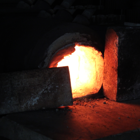 Forge Refractory Kit in use