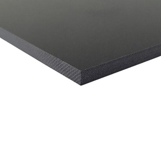 black sheet of G10 measuring 3.5 x 300 x 340 mm