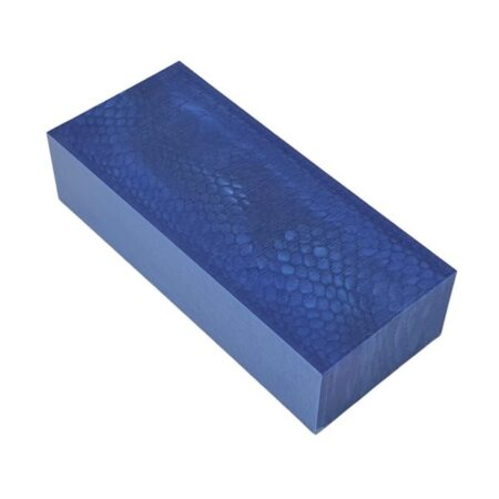 Juma handle block with a blue snake pattern and width of 50 mm