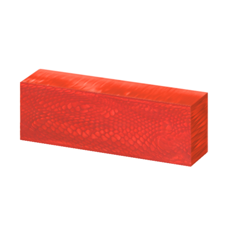 Juma handle block with a magma dragon pattern and width of 43 mm side angle