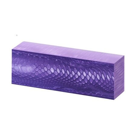 Juma handle Block with a purple dragon pattern and width of 43 mm side angle