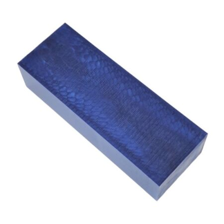 Juma handle block with a blue snake pattern and width of 43 mm