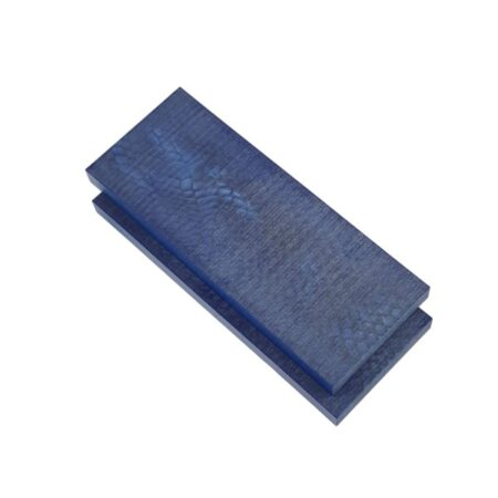 Juma handle scales with a blue snake pattern and width of 50 mm stacked together