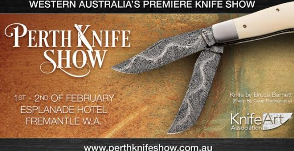 perth knife show banner