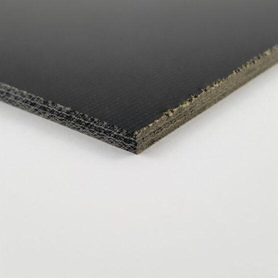 """Canvas Micarta Sheet 3.2 mm (1/8"""") x 127 mm x 298 mm Black"""