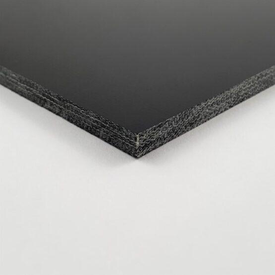 """Canvas Micarta Sheet 4.8 mm (3/16"""") x 127 mm x 298 mm Black"""
