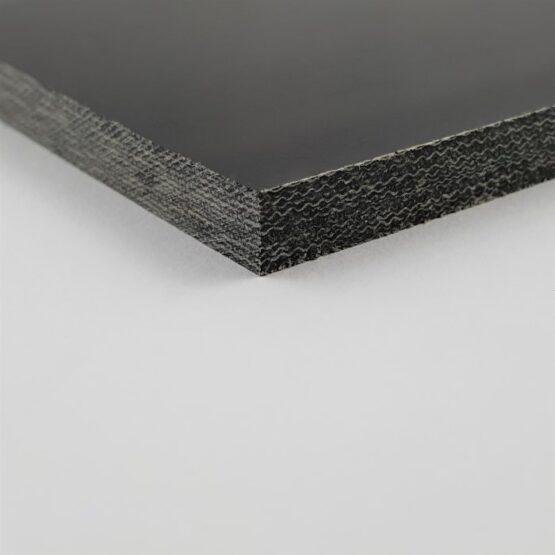 """Canvas Micarta Sheet 6.35 mm (1/4"""") x 127 mm x 298 mm Black"""