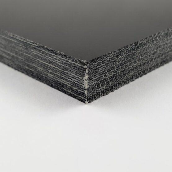"""Canvas Micarta Sheet 9.5 mm (3/8"""") x 127 mm x 298 mm Black"""