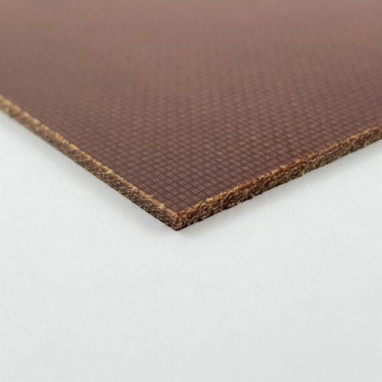 "Canvas Micarta Sheet 1.58 mm (1/16"") x 127 mm x 298 mm Natural Brown"