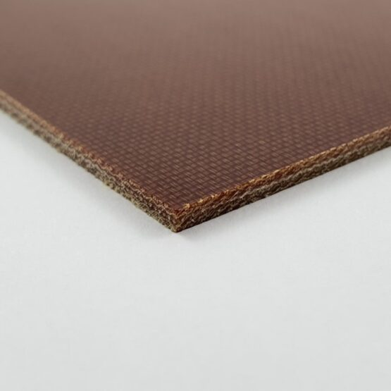 "Canvas Micarta Sheet 2.4 mm (3/32"") x 127 mm x 298 mm Natural Brown"