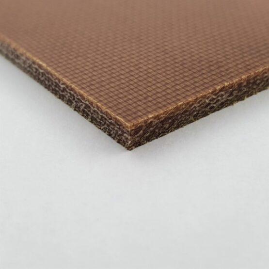 "Canvas Micarta Sheet 3.2 mm (1/8"") x 127 mm x 298 mm Natural Brown"