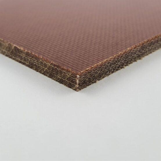 "Canvas Micarta Sheet 4.8 mm (3/16"") x 127 mm x 298 mm Natural Brown"