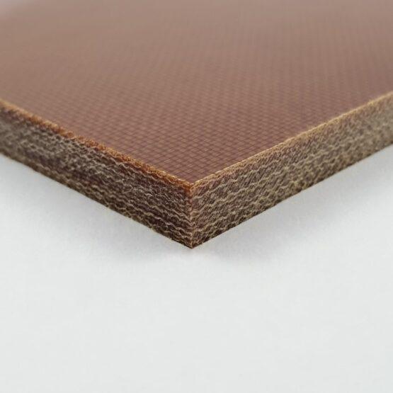 "Canvas Micarta Sheet 6.35 mm (1/4"") x 127 mm x 298 mm Natural Brown"
