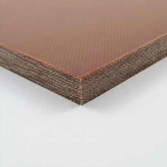 "Canvas Micarta Sheet 9.5 mm (3/8"") x 127 mm x 298 mm Natural Brown"