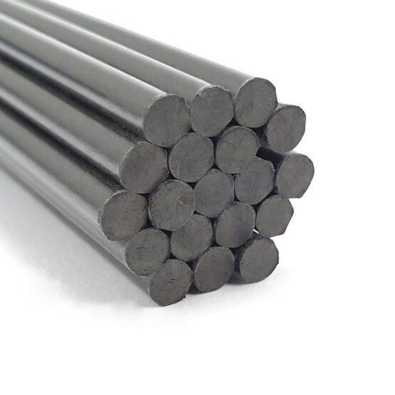 """Carbon Fiber Rod 4.8mm (3/16"""") x 300mm"""