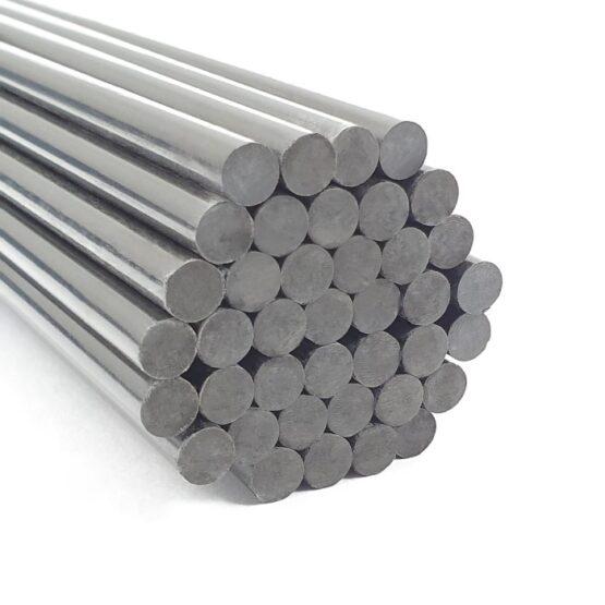 """Carbon Fiber Rod 6.35mm (1/4"""") x 300mm"""