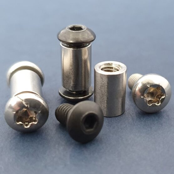 "Threaded Standoffs 8-32 1/4"" x 3/8"" Complete"