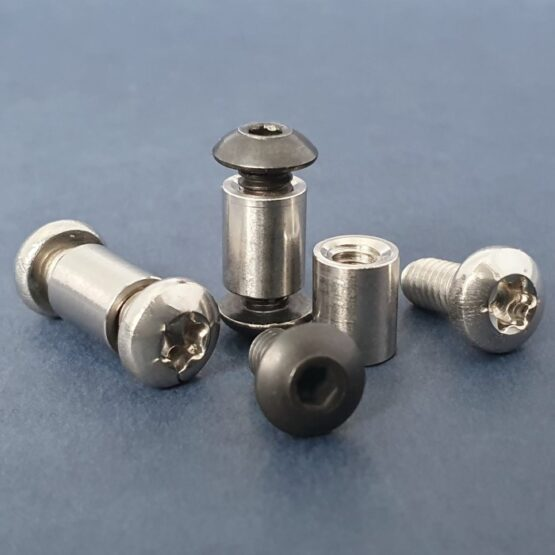"Threaded Standoffs 8-32 1/4"" x 5/16"" Complete"