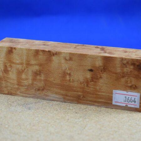 Stabilised Birdseye Maple Block * 1664