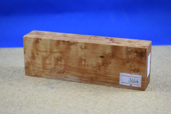 Stabilised Birdseye Maple Block * 1664