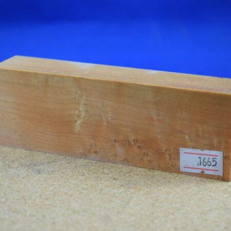 Stabilised Birdseye Maple Block * 1665